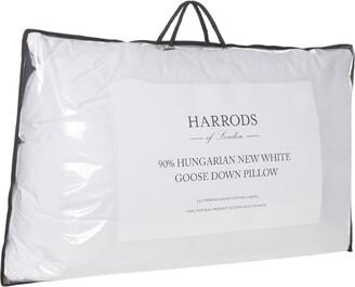 Harrods 90% Hungarian Goose Down Pillow (Soft)