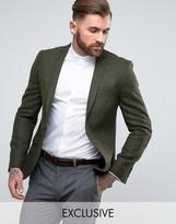 Heart & Dagger Woven In England Slim Tweed Blazer