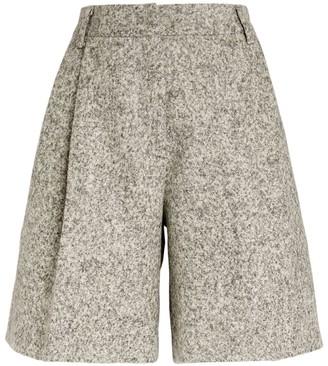 Kiton Wool Boucle Shorts