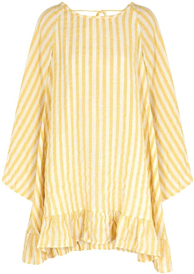 SUNDRESS Indiana Striped Gauze Dress