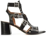 Derek Lam Java cage block-heel sandals - women - Leather - 38.5