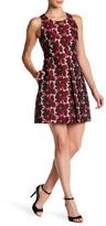 Rachel Roy Floral Jacquard Shift Dress