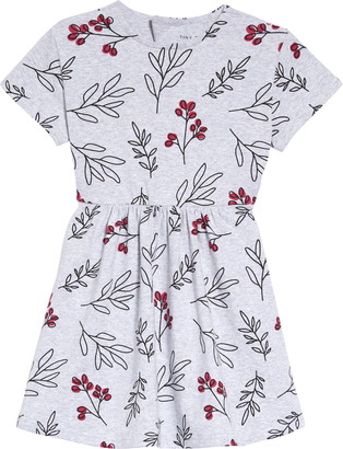 TINY TRIBE Wildflower Print Flare Dress