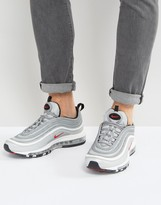 Nike Air Max 97 Trainers In Silver 884421-001