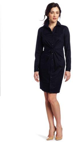 AK Anne Klein Anne Klein Women's Twisted Shirt Dress