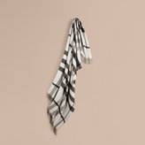 Burberry Check Merino Wool Cashmere Blanket