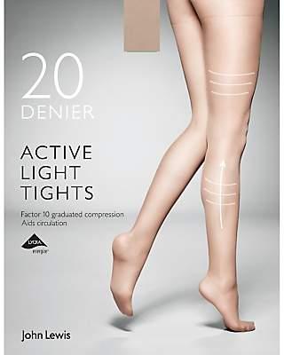 52a89fa7e3d John Lewis   Partners 20 Denier Firm Support Active Light Sheer Tights