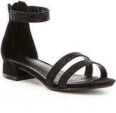 Kenneth Cole Reaction Girl's Julie Jazz Double Banded Ankle Strap Sandals