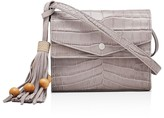 Elizabeth and James Eloise Field Embossed Leather Crossbody