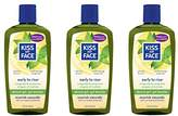 Kiss My Face Early-to-Rise Moisturizing Shower Gel, Bath and Body Wash, 16 oz (Pack of 3)