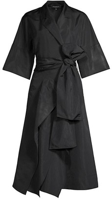 Lafayette 148 New York Richards Taffeta Shirtdress
