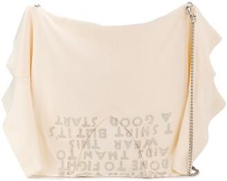 MM6 MAISON MARGIELA T-Shirt Silhouette Satchel Bag