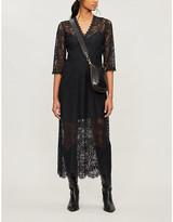 Claudie Pierlot Scalloped floral-lace dress