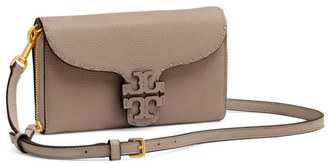 Tory Burch McGraw Leather Wallet-On-Strap