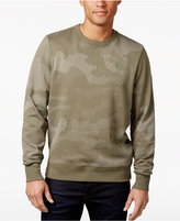 G Star Men's Meon Camouflage Dot-Print Cotton Sweater