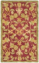 Safavieh Anatolia Collection AN527A Handmade and Sage Wool Area Rug, 3 feet by 5 feet