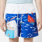 Polo Ralph Lauren Men's Traveler Printed Swim Shorts