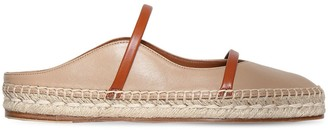 Malone Souliers 20mm Sienna Leather Espadrilles