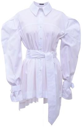 Z.G.Est White Cotton Puff Sleeve Shirt Antoinette