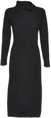 Fabiana Filippi Rib-Knit Midi Dress
