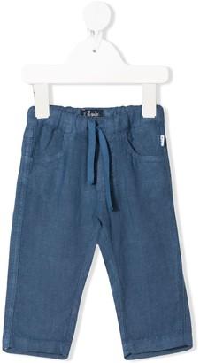 Il Gufo Drawstring Waist Trousers