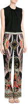 Etro Sleeveless Silk Blouse