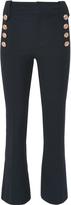 Derek Lam 10 Crosby Cropped Flare Sailor Trousers