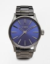 Nixon Sentry 38 Stainless Steel Strap Watch - Silver