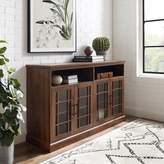 Three Posts Sunray TV Stand for TVs up to 65 inches Color: Dark Walnut