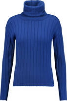 DKNY Ribbed wool turtleneck sweater