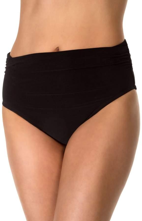 Magicsuit Jersey Shirred Bikini Bottom