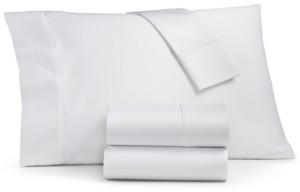 Sunham Ashford 1500-Thread Count 4-Pc. Solid Queen Sheet Set Bedding