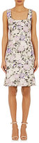 Philosophy di Alberta Ferretti WOMEN'S JACQUARD SHEATH DRESS SIZE 46 IT