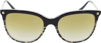 Dolce & Gabbana Leopard Square Sunglasses