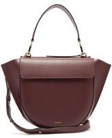 Wandler Hortensia Medium Leather Shoulder Bag - Womens - Burgundy