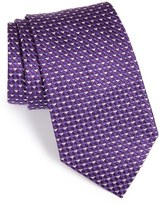 Armani Collezioni Men's Micro Pattern Silk Tie