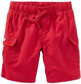 Osh Kosh Toddler Boy Red Cargo Shorts
