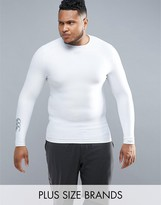 Canterbury Of New Zealand Canterbury Plus Thermoreg Baselayer Long Sleeve Top In White E546845-001