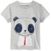First Impressions Panda Graphic-Printed Tee