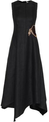 J.W.Anderson Embellished linen dress