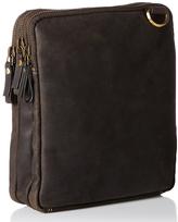 Visconti Tan Leather Crossbody Bag