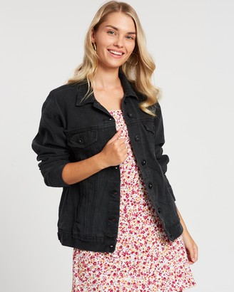 Cotton On Not Your Boyfriend's Denim Trucker Jacket