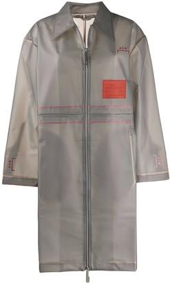 A-Cold-Wall* sheer Mac raincoat