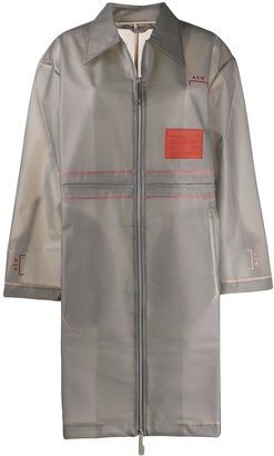 A-Cold-Wall* sheer Mac raincoat
