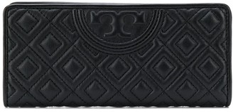 Tory Burch Quilted Logo Wallet