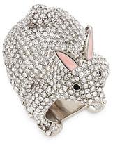 Kate Spade Pave Rabbit Ring
