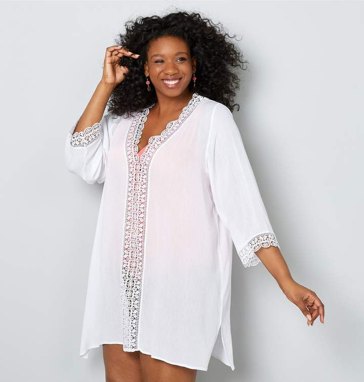cd0738a4864 Crochet Beach Cover Up - ShopStyle