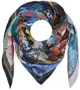 Christian Lacroix Love Letters Square Silk Scarf