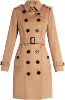 Burberry Sandringham mid-length cashmere trench coat