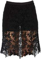 Sacai Layered Lace Shorts